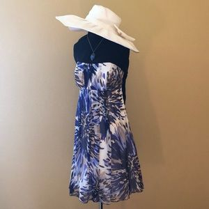 ABS Allen Schwartz Flower Dress I Size 8